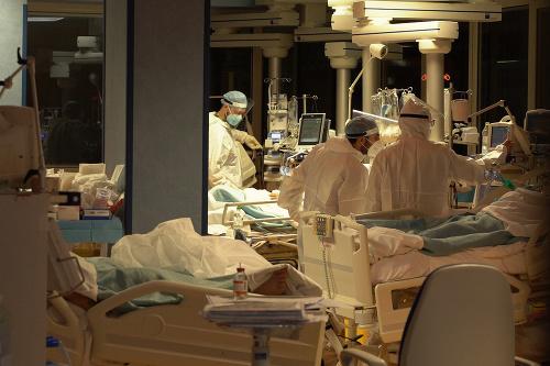 Plné nemocnice v Taliansku