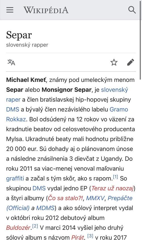 Na Wikipedii vyčíňal škriatok: