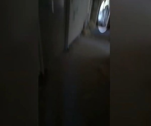 VIDEO Žena navštívila opustenú