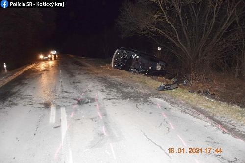FOTO Hrozivá dopravná nehoda