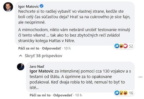 Kollár ostro kritizuje Matoviča: