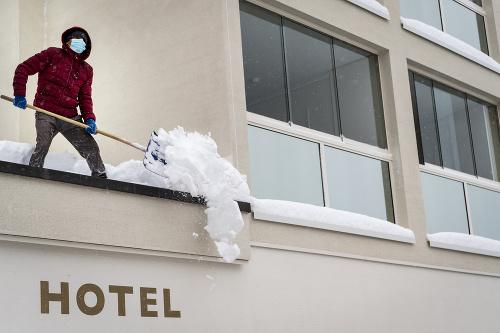 Hotel v luxusnom lyžiarskom