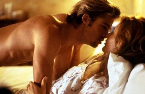 Brad Pitt a Geena