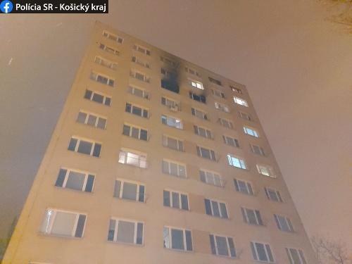 Polícia vyšetruje požiar bytu