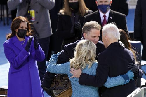 Joe Biden po prísahe