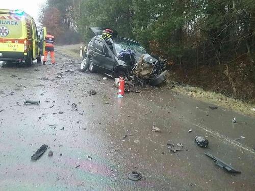 Pri Lutile narazilo auto