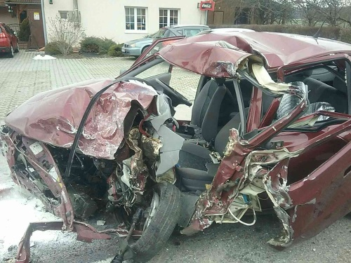 Dopravná nehoda pri Nitrianskych