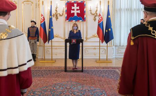 Prezidentka vymenovala do funkcie