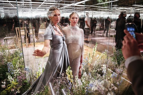 Kate Moss so svojou