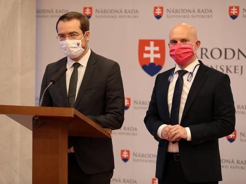 Marek Krajčí a Branislav