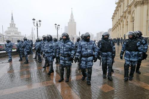 Protest v Rusku