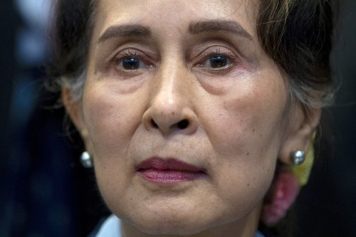 Mjanmarská premiérka Aun Schan
