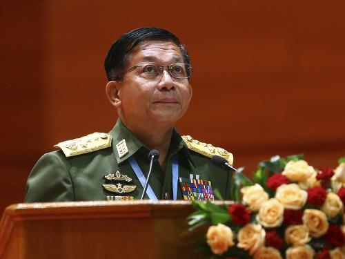 Generál Min Aun Hlain