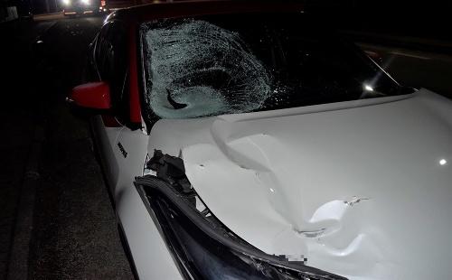 Dopravná nehoda v Horných