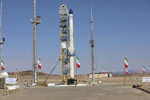 Štart iránskej rakety Zoljanah