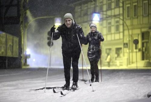 FOTO Mimoriadny vpád zimy