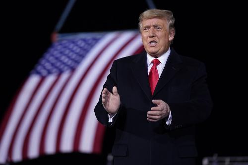 Bývalý americký prezident Donald