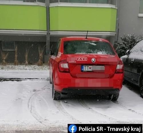 Trnavskí policajti odhalili opitú