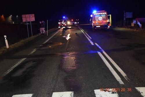Smrteľná autonehoda pri Slovenskej