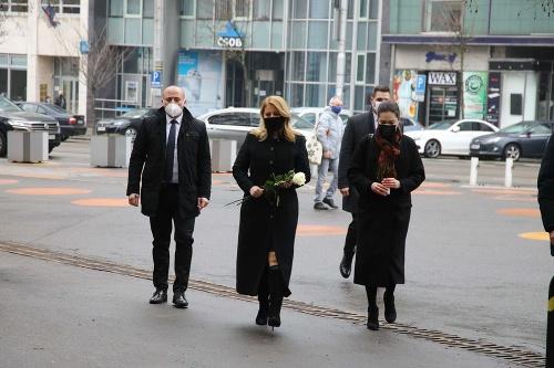 Prezidentka Zuzana Čaputová si
