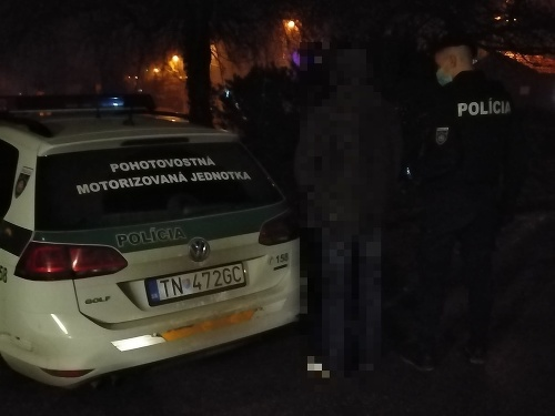 Trenčianski policajti vypátrali muža,