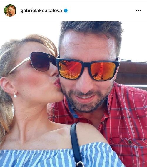 Gabriela Koukalová s exmanželom