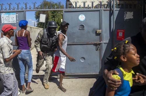 Z väznice na Haiti