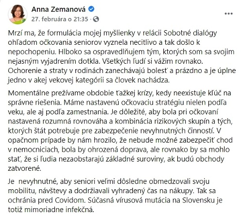 KORONAVÍRUS Zemanovej výrok o