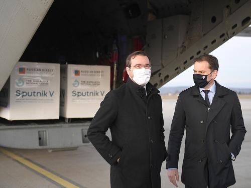 Premiér Igor Matovič spolu
