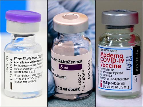 Vakcíny od spoločností Pfizer,