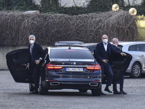 Sulíkovci prišli k prezidentke.