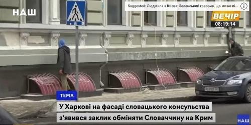 Ukrajinská odplata za Matovičove