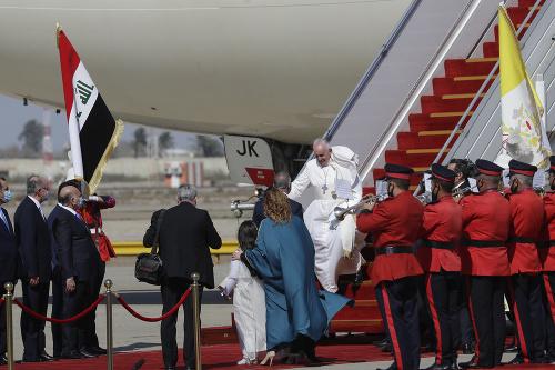 Pápež František na historickej