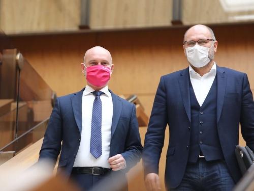 Predstavitelia strany SaS
