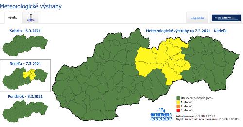 Slovenský hydrometeorologický ústav vydal