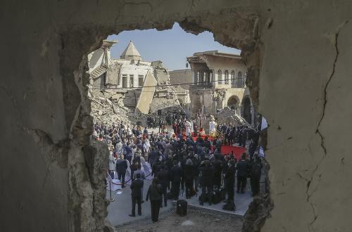 FOTO Pápež navštívil Irak:
