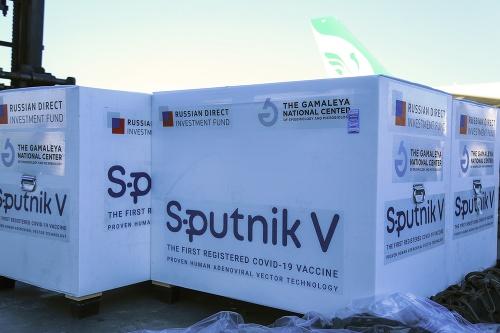 Zásielka vakcíny Sputnik V
