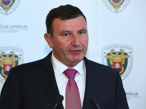 Šéf Finančnej správy František