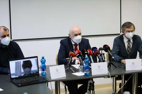 Tlačová konferencia Slovenskej lekárskej