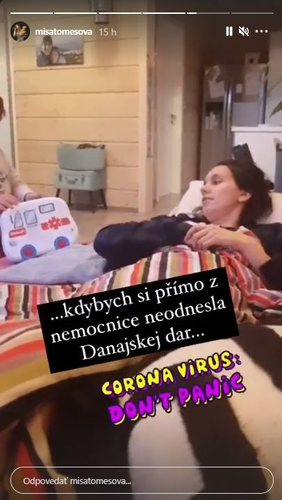 Česká herečka po akútnej
