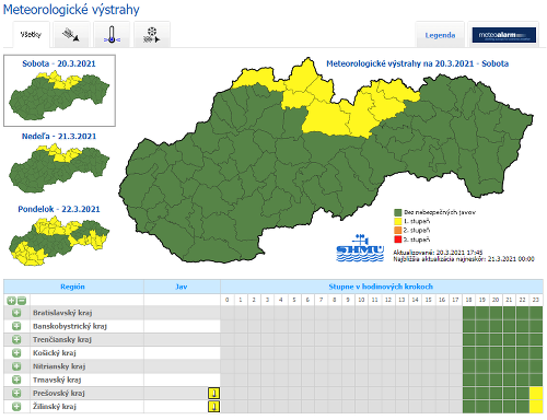 Na Slovensku zavládnu neočakávane