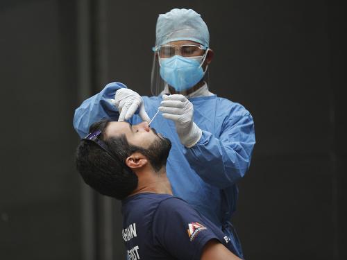 Testovanie na koronavírus v