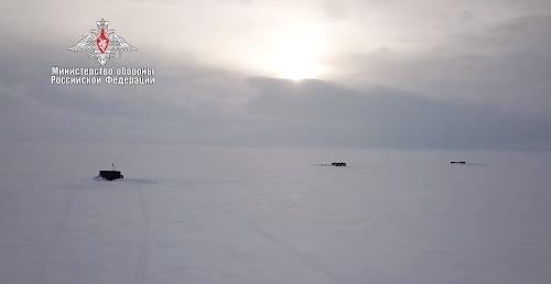 Vojenské cvičenie v Arktíde: