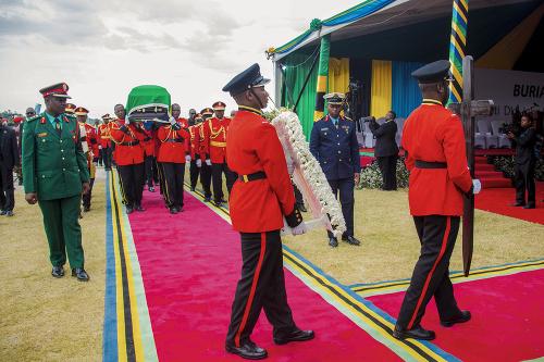 Prezident Magufuli zomrel 17.