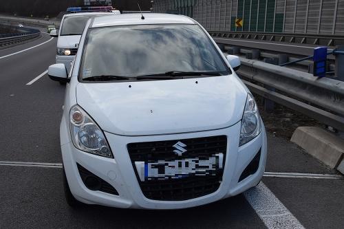 Polícia objasnila krádež auta,