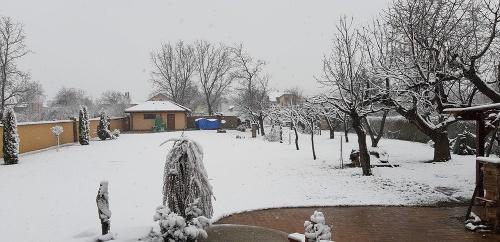 Sneh v Hencovciach