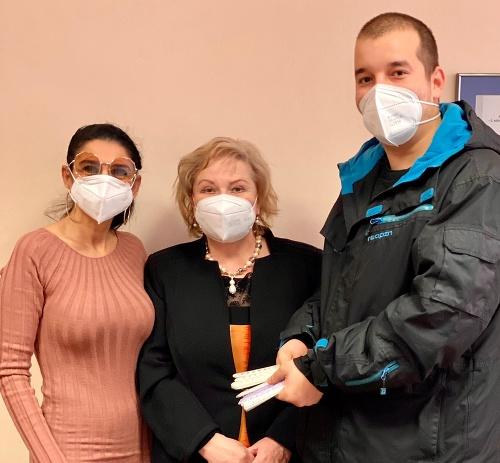 Elektrikár venoval bánovskej nemocnici