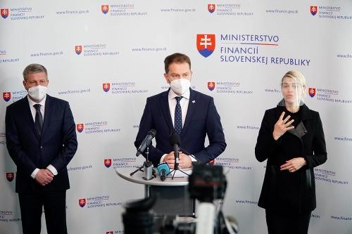Tlačová beseda ministra financií