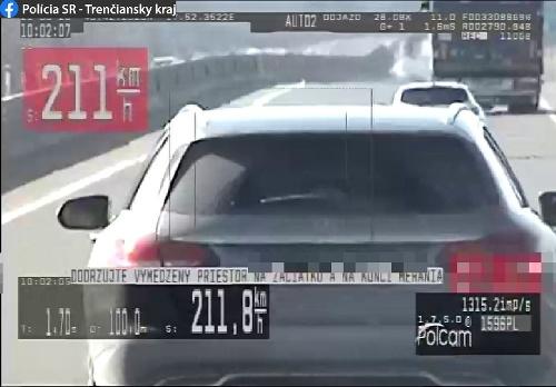 Trenčianski diaľničniari chytili cestného