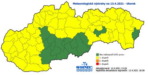 Slovensko čaká prudké ochladenie: